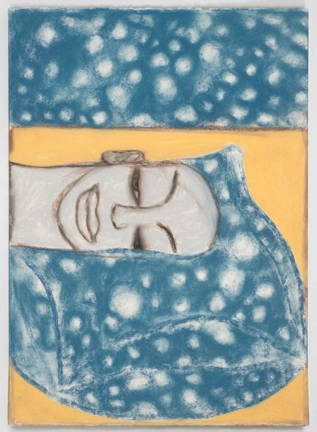 Francesco Clemente, 'Ex Libris Chenonceau 'Sky'', 1994. Collection of the artist, New York. Courtesy of Francesco Clemente Studio. Photo: Tom Powel Imaging