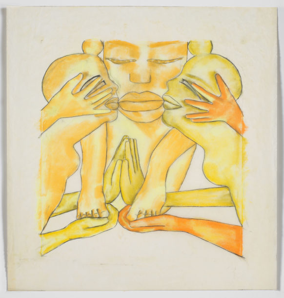 Francesco Clemente, 'Drawings for Geography, North', c. 1990s. Collection of the artist, New York. Courtesy of Francesco Clemente Studio. Photo: Tom Powel Imaging